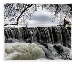 Whitnall Waterfall Fleece Blanket
