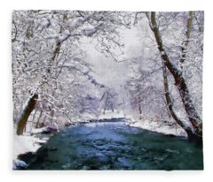 Winter White Fleece Blanket