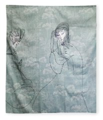 Annunciation Fleece Blanket