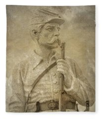 149th Pennsylvania Monument Gettysburg Fleece Blanket
