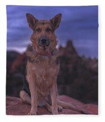 Liesl  Fleece Blanket