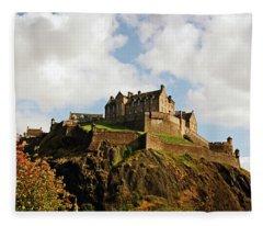 19/08/13 Edinburgh, The Castle. Fleece Blanket