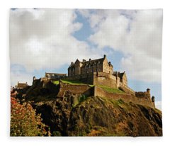 19/08/13 Edinburgh, The Castle. Fleece Blanket