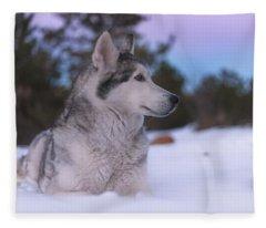 Aurora  Fleece Blanket