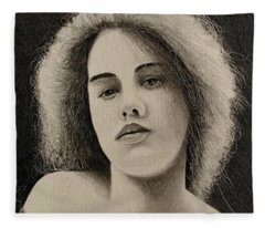 1902 Actress Fleece Blanket