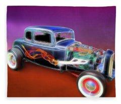 1932 Ford Roadster Fleece Blanket
