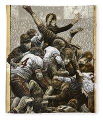 1940 Chicago Bears Fleece Blanket