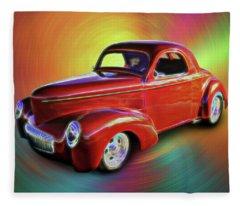 1941 Willis Coupe Fleece Blanket