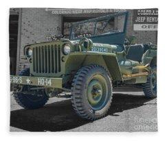 1942 Willys Gpw Fleece Blanket