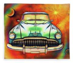 1949  Buick Headon Fleece Blanket