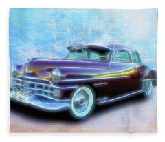 1950 Chrysler Fleece Blanket