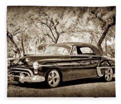 1950 Oldsmobile 88 -004s Fleece Blanket
