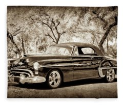 1950 Oldsmobile 88 -004s Fleece Blanket