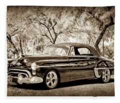 1950 Oldsmobile 88 -004s45 Fleece Blanket