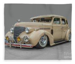 1939 Chevrolet Master Deluxe Fleece Blanket