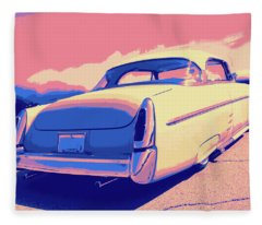 1953 Mercury Custom Fleece Blanket