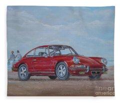 1968 Porsche 911 2.0 S Fleece Blanket