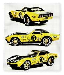 1969 Chevrolet Copo Corvette Fleece Blanket