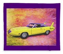 1970 Superbird Fleece Blanket