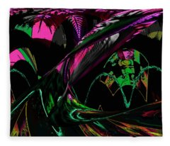 Abstract 1001 Fleece Blanket