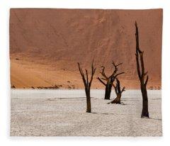 Deadvlei Desert Fleece Blanket