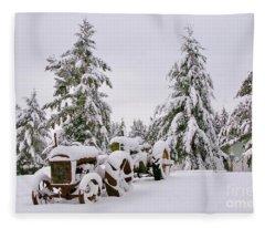 Forgotten But Not Gone Fleece Blanket