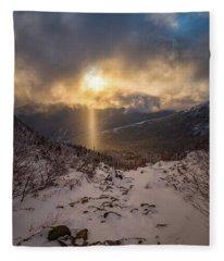Let There Be Light Fleece Blanket
