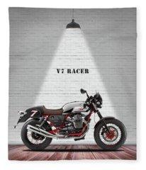 Cafe Racer Fleece Blankets
