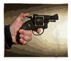 Revolver Fleece Blanket