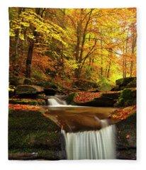 River Rapid Fleece Blanket