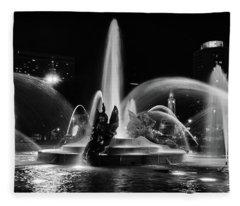 Swann Memorial Fountain Fleece Blanket