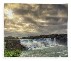 The American Falls Fleece Blanket