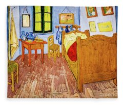 Van Gogh's Bedroom At Arles Fleece Blanket