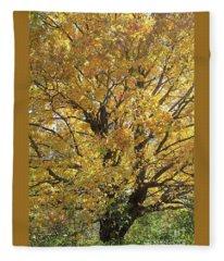 2018 Edna's Tree Up Close Fleece Blanket