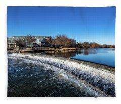 2019-005/365 Barstow Street Dam Fleece Blanket