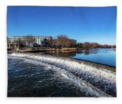 2019-005/365 Barstow Street Dam Fleece Blanket