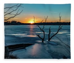 2019-012/365 January Sunset Fleece Blanket