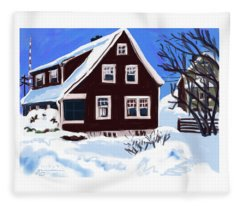 22 Hillside Avenue Fleece Blanket