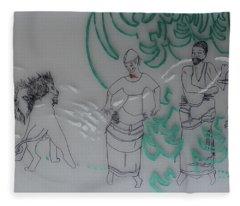 Kintu And Nambi The Folktale Fleece Blanket