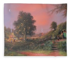 Lord Of The Rings Inspired Artwork. From The Magical Realm Fleece Blanket