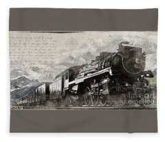 2816 At Banff Siding Fleece Blanket