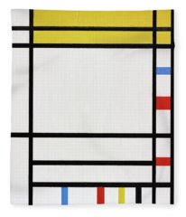 Composition Fleece Blanket