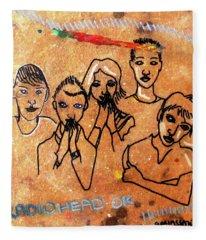 Radiohead Fleece Blanket