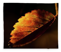 Red And Yellow Fleece Blanket