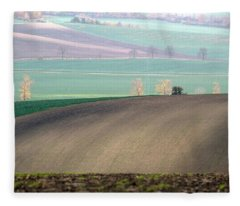 Autumn In South Moravia 5 Fleece Blanket