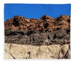 4 Textures 4 Colors Fleece Blanket