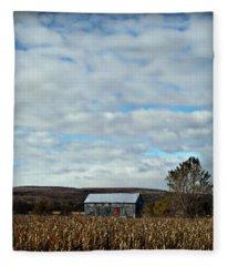 Corners Of Collingwood Fleece Blanket