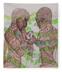 Kintu And Nambi New Beginnings Fleece Blanket