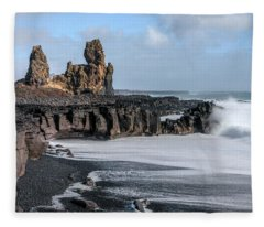 Londrangar - Iceland Fleece Blanket