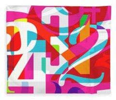 54321 Fleece Blanket